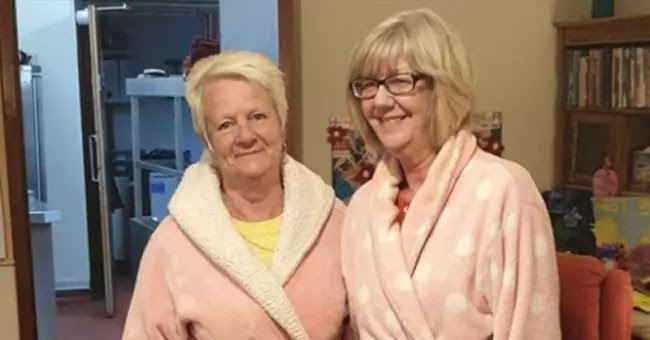 Night Staff In Nursing Home Wear Pyjamas To Encourage People To Sleep