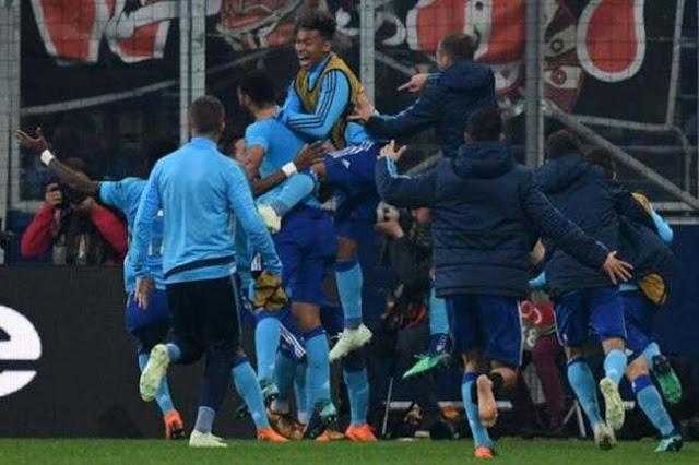 Olympique Marseille vs Atletico Madrid