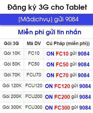Cách hủy dịch vụ 3G Mobifone Internet Mobile 1