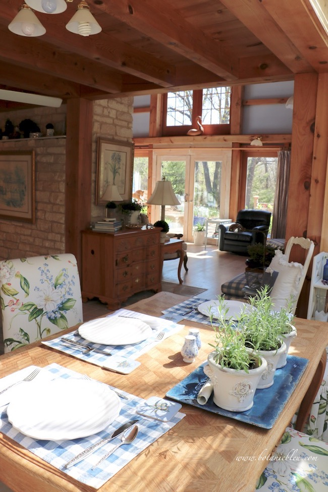 notes from the country sunlight in an open post and beam house