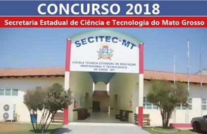 Concurso SECITEC 2018