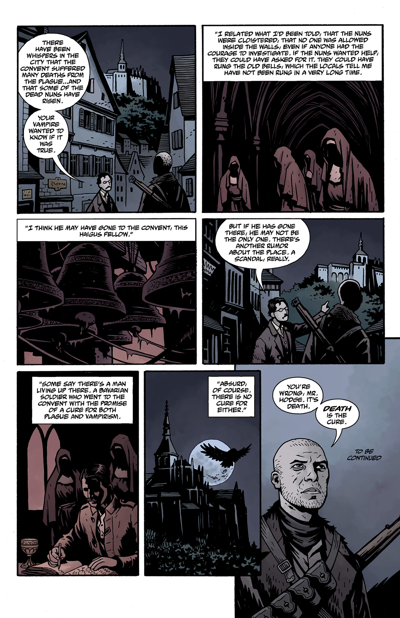 Read online Baltimore: The Curse Bells comic -  Issue #1 - 25