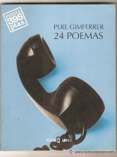 24 poemas / Pere Gimferrer