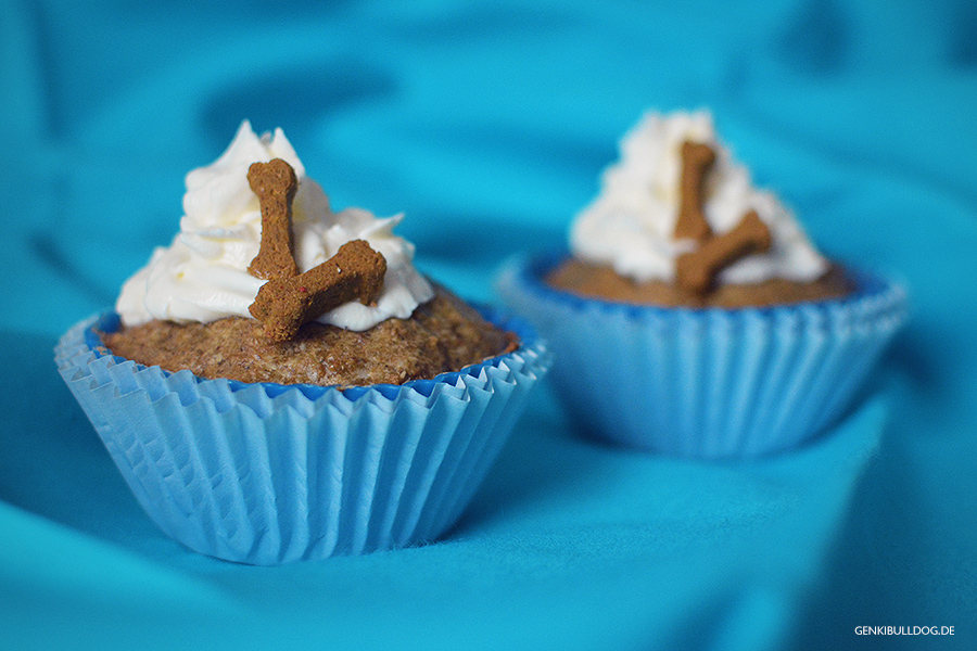 Rezept: Pansen-Parmesan Cupcakes für Hunde backen