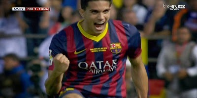 Final Copa Del Rey : Barcelona 1 vs 2 Real Madrid 16-04-2014