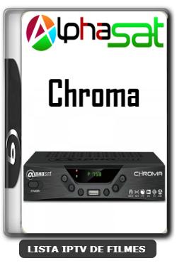 Alphasat Chroma Nova Atualização Adicionado SKS 61w V12.00.07.S60 - 11-01-2020