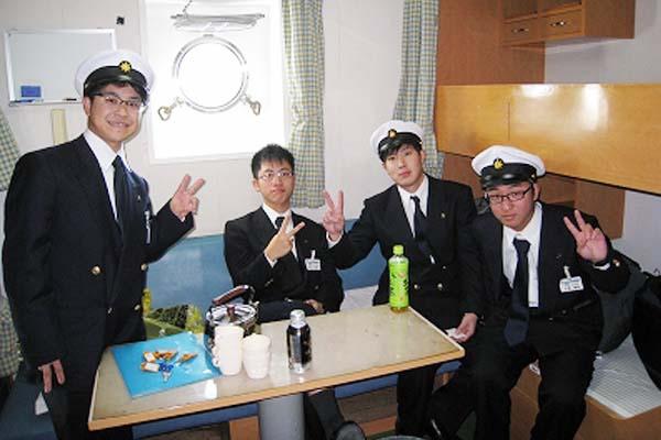 31期生・乗船