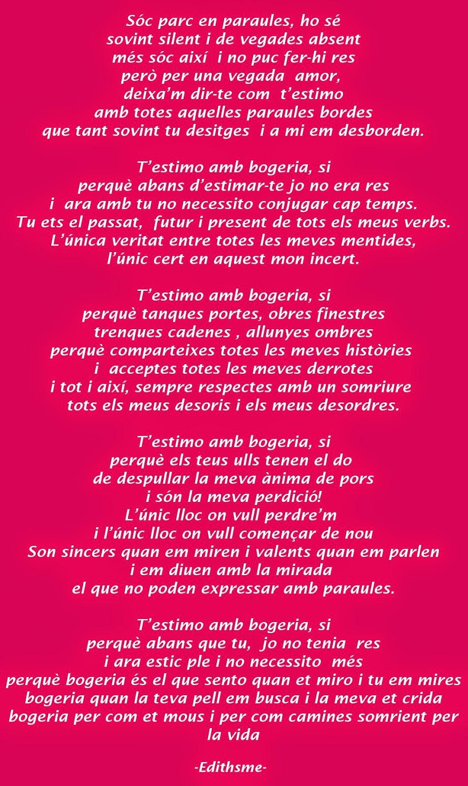 Edithsme 130 Frases D Amor I 4 Poemes Per Dir T Estimo