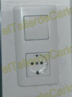 Eltallerdecarlos base de enchufe con interruptor integrado montar mecanismo el ctricos en - Mecanismo para reloj de pared ...