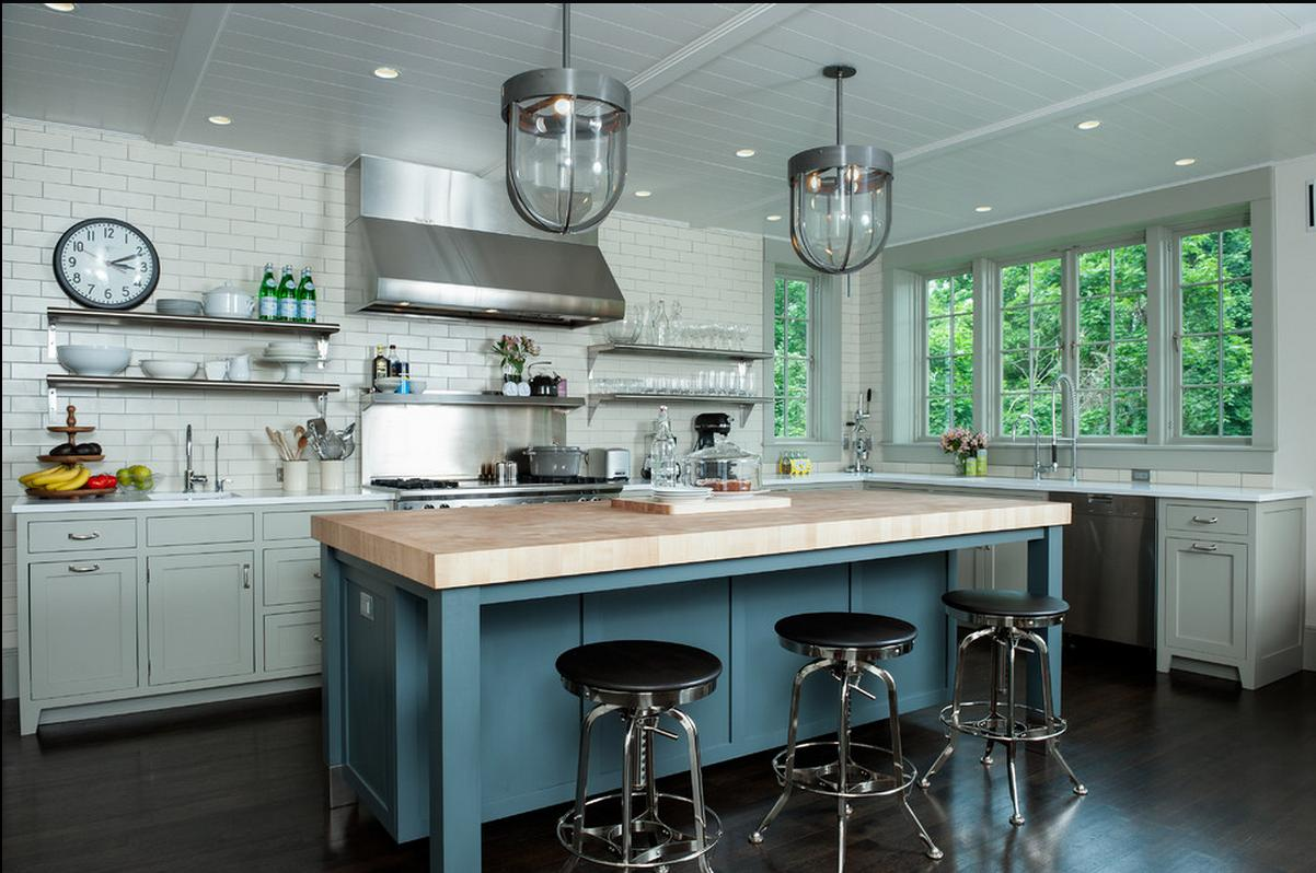 Delorme Designs: GRAY KITCHEN-DROOL WORTHY