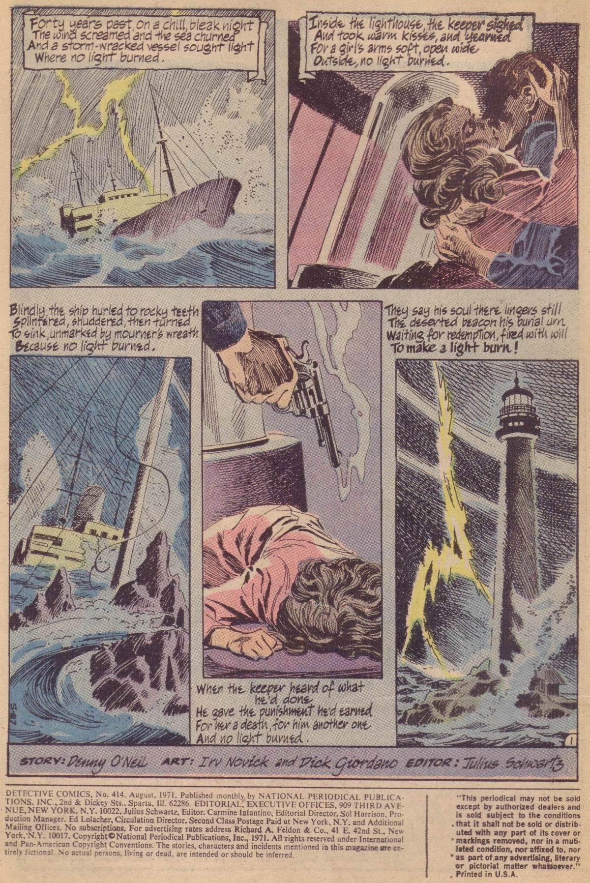 Detective Comics (1937) 414 Page 2