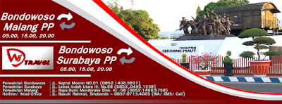 Travel Bondowoso Surabaya - Bondowoso PP