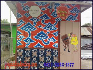 Mural Lukis dinding batik