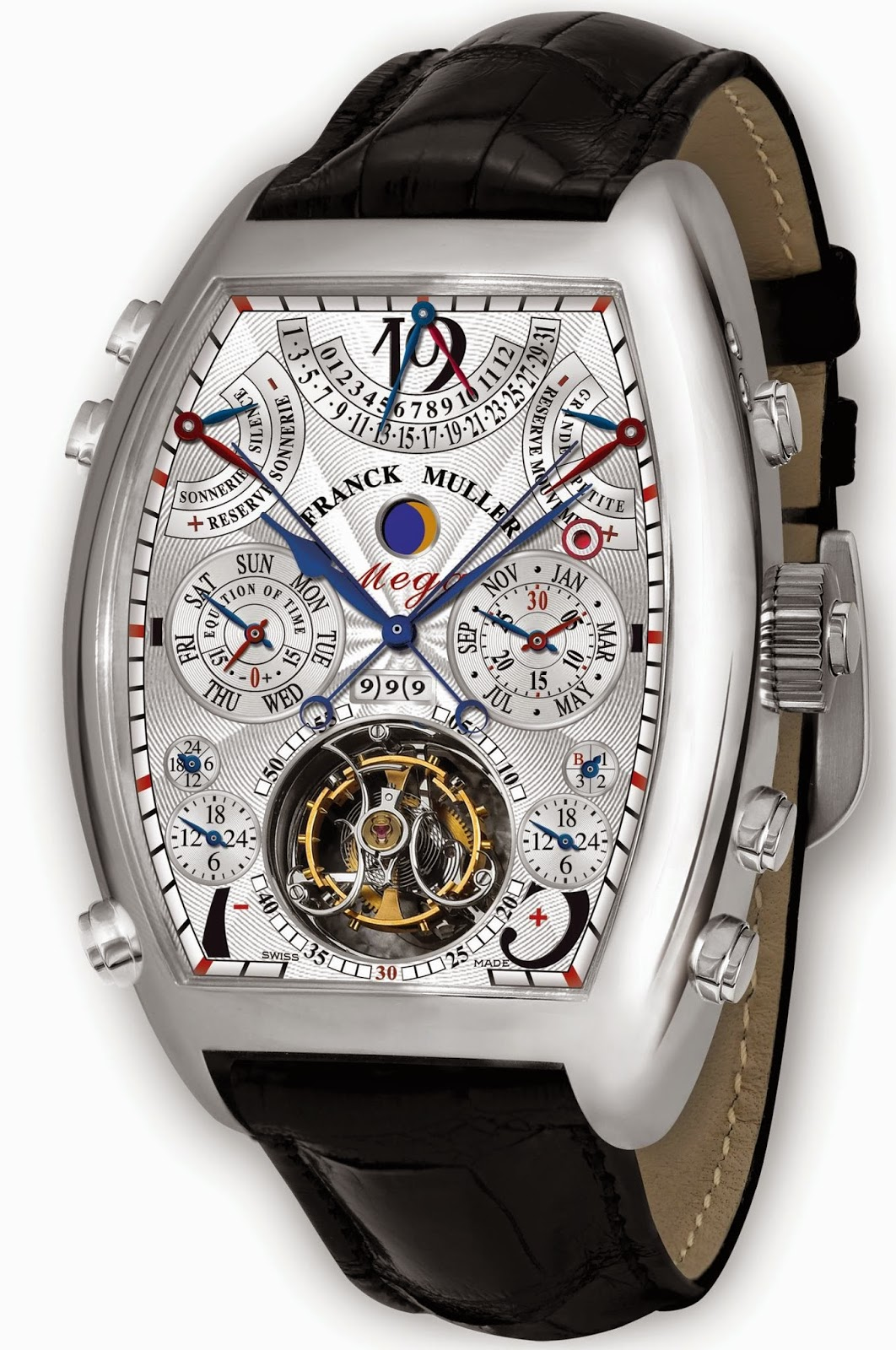 Franck Muller Aeternitas Mega 4 replica watch