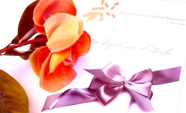 cadeau personnalisé cadeau symbolique gift present nommer une étoile offrir une étoile baptême d'étoile étoilez-moi.com