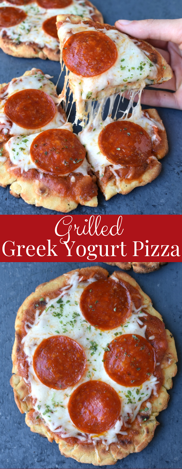 Grilled Greek Yogurt Pizza recipe