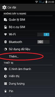 cách đơn giản biến điện thoại thành trạm wifi công cộng