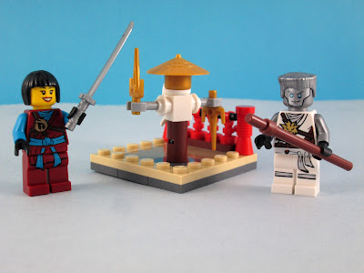 Set LEGO Ninjago 30425 CRU Masters Training