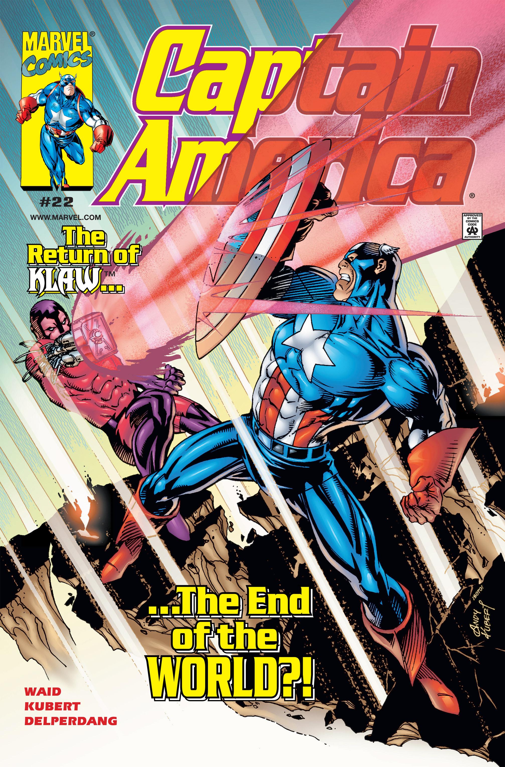 Captain America (1998) Issue #22 #28 - English 1