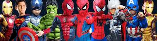 kostum superhiro