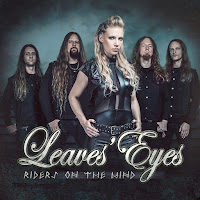 "Το single των Leaves' Eyes ""Riders On The Wind"""