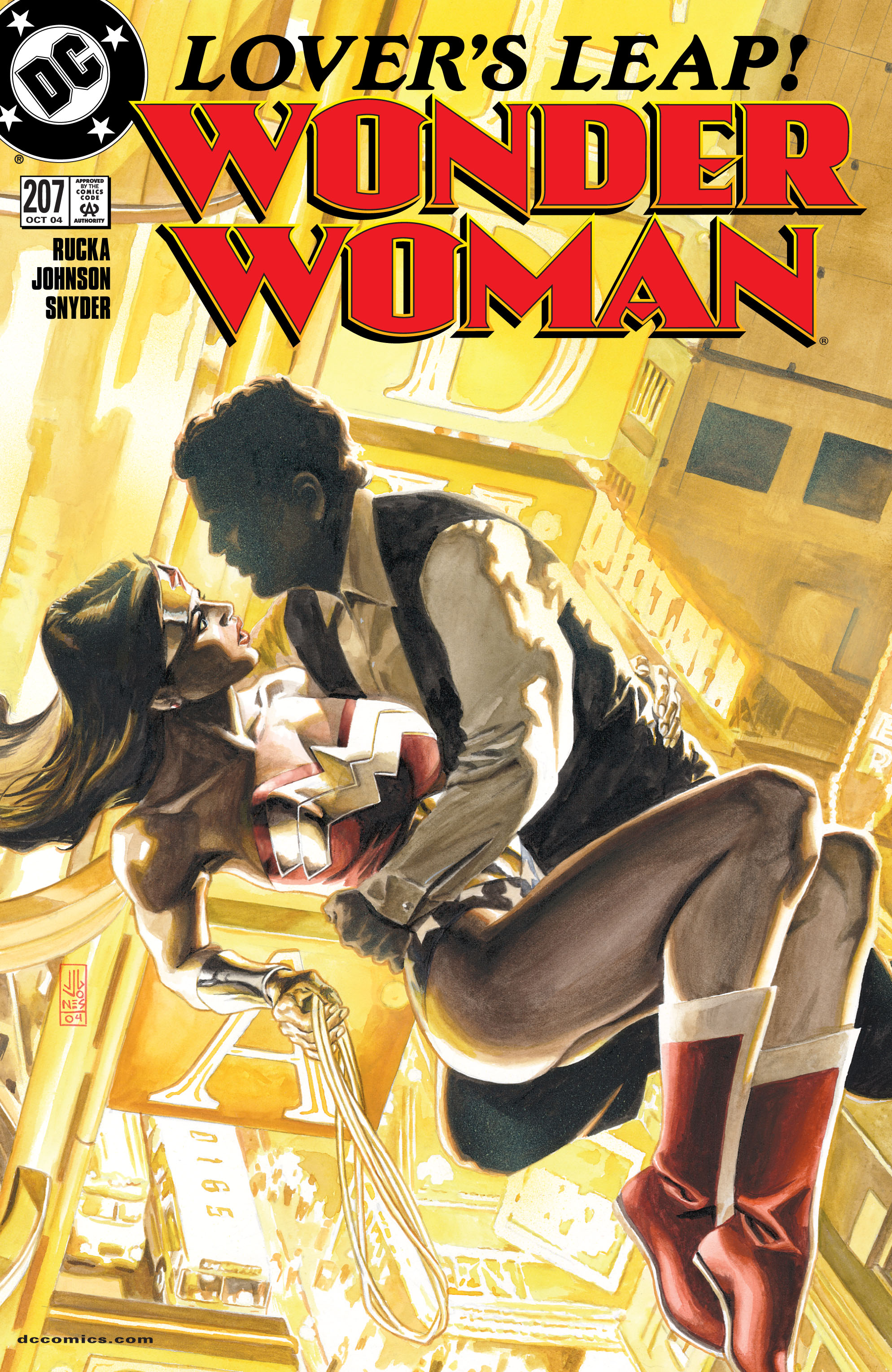 Read online Wonder Woman (1987) comic -  Issue #207 - 1