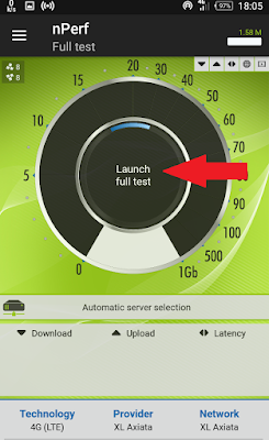 Cara Test Speed Internet Pada Android