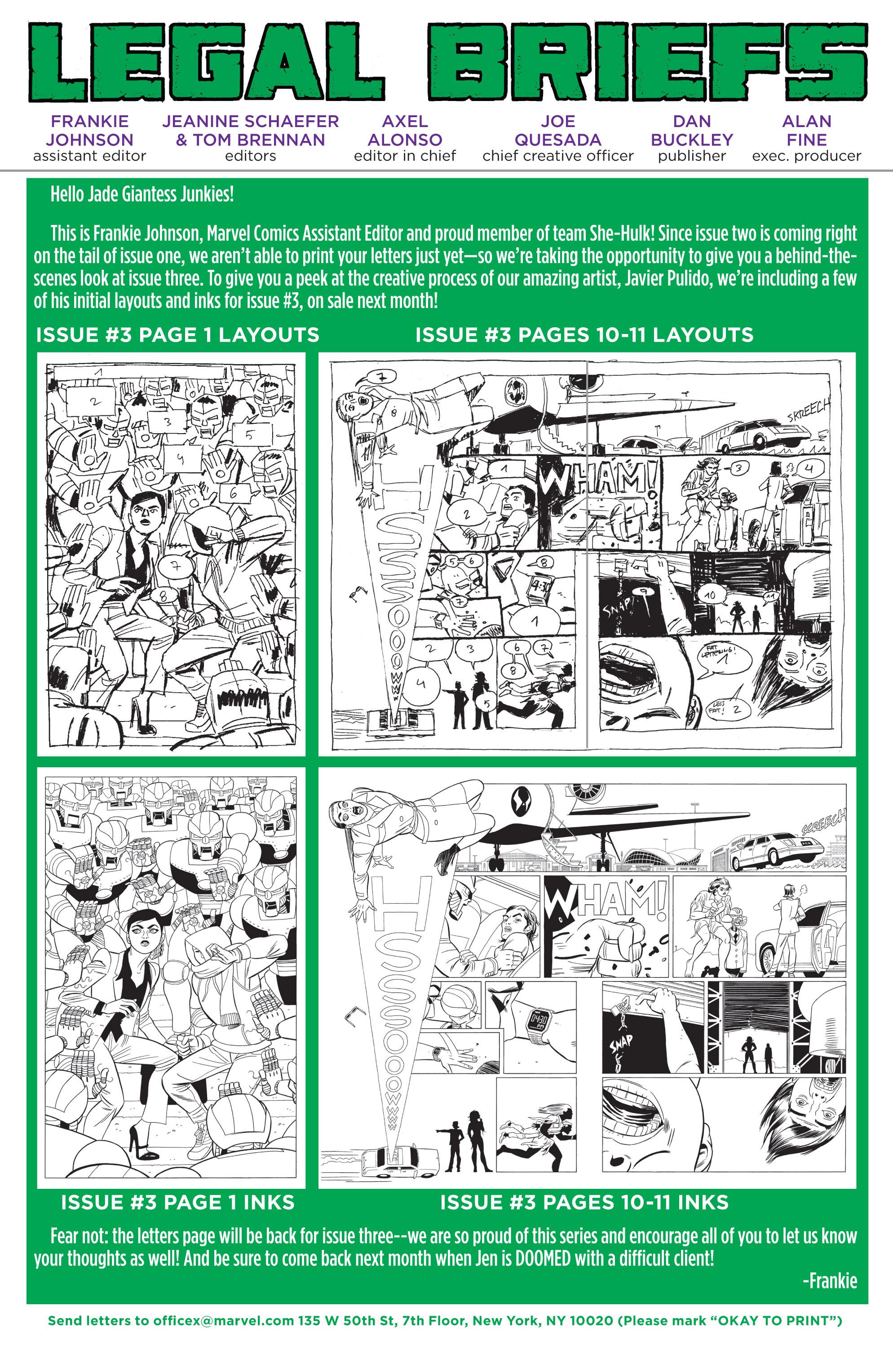 Read online She-Hulk (2014) comic -  Issue #2 - 20