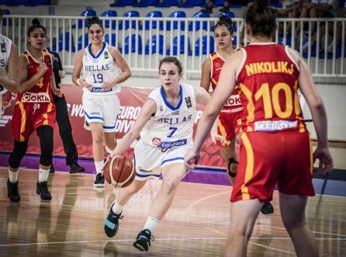 Εθνική Κορασίδων: Ελλάδα-ΠΓΔΜ 83-41