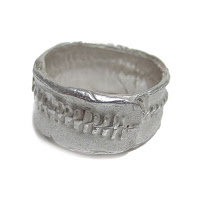 rustic ring by Catherine Marche Jewellery