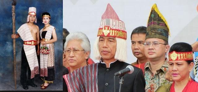 Yukk Mengenal Ulos Yang Di Pakai Presiden Jokowi Ketika menghadiri KKPDT