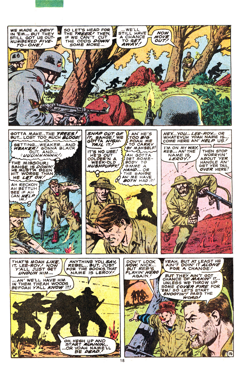 Read online Sgt. Fury comic -  Issue #164 - 20