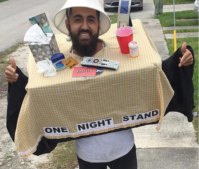 Check out this man's Halloween costume
