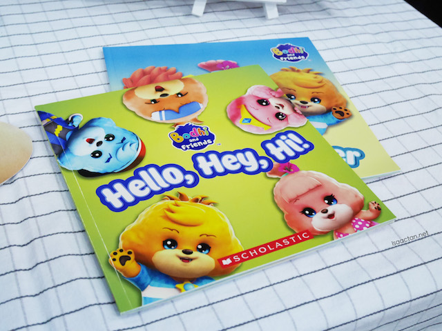 "First two sing-along books ""Hello, Hey, Hi!"" and ""See You Later"" of the Bodhi and Friends series"