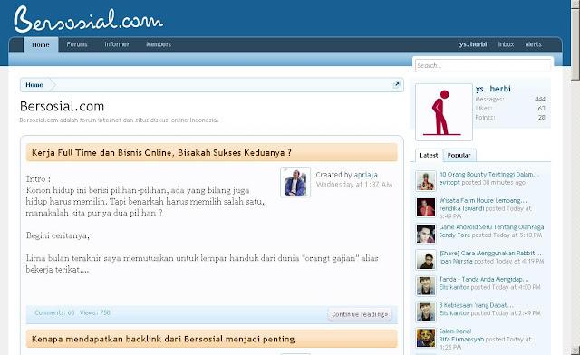 cara dapatkan backlink forum untuk link building