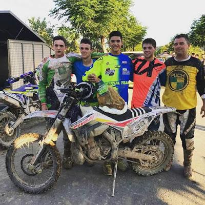 Motocross , Enduro , barro, Raúl Guimerá Gasulla, Mario Micolau, Javier Bel Pons, Alejandro Millán,
