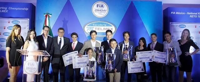 Premian a lo mejor de 2016 del FIA México National Karting Championship Reto Telmex
