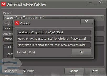 Universal adobe patcher is Safe 1