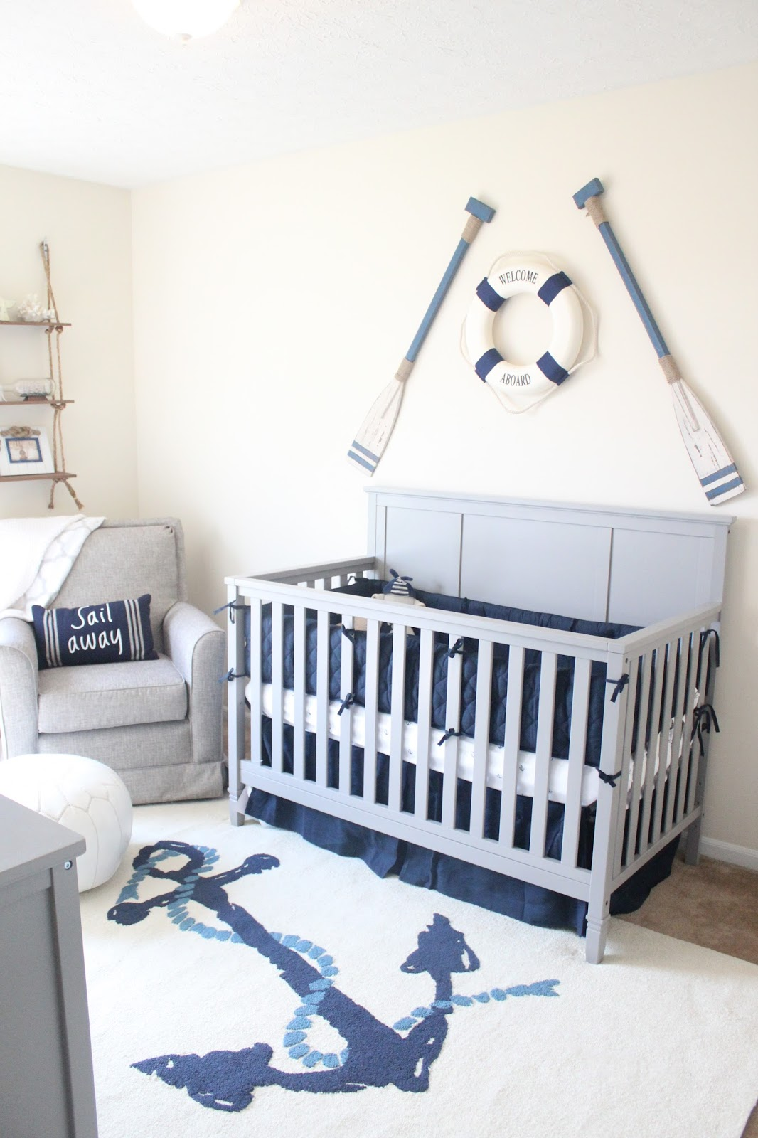 Baby #2's Nautical Nursery | Keep Calm & Carry On ...
