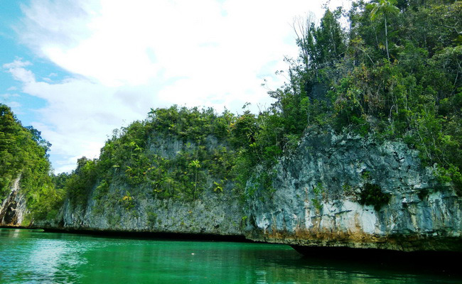 Xvlor.com Triton Bay to watch pre-historic paintings and Bryde's whale amongst karst cliffs