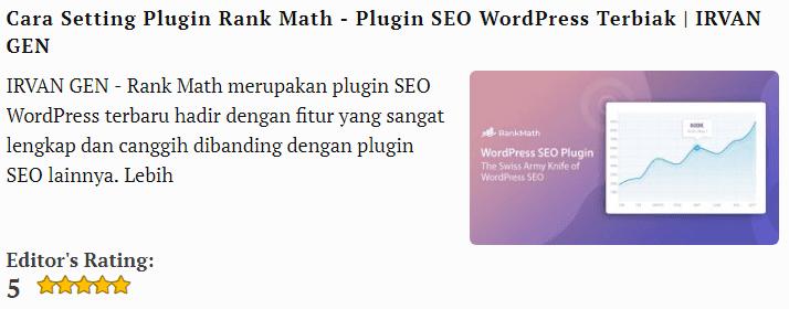 Cara Setting Plugin Rank Math - Plugin SEO WordPress Terbaik 3