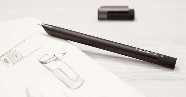 Moleskine's new 'Pen+ Ellipse' digital Smart Pen