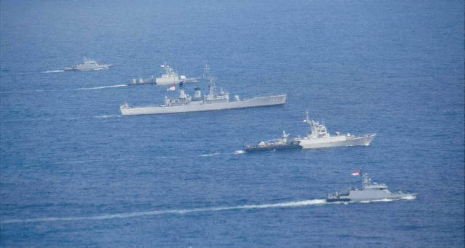 Bagaimana Indonesia bersikap di ketegangan maritim di kawasan LCS