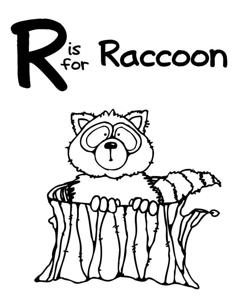 We Love Being Moms!: Letter R (Rhinoceros and Raccoon)