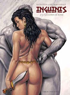 [7BD] Inguinis tome 2 - Les corps de Rôme aux éditions Tabou BD