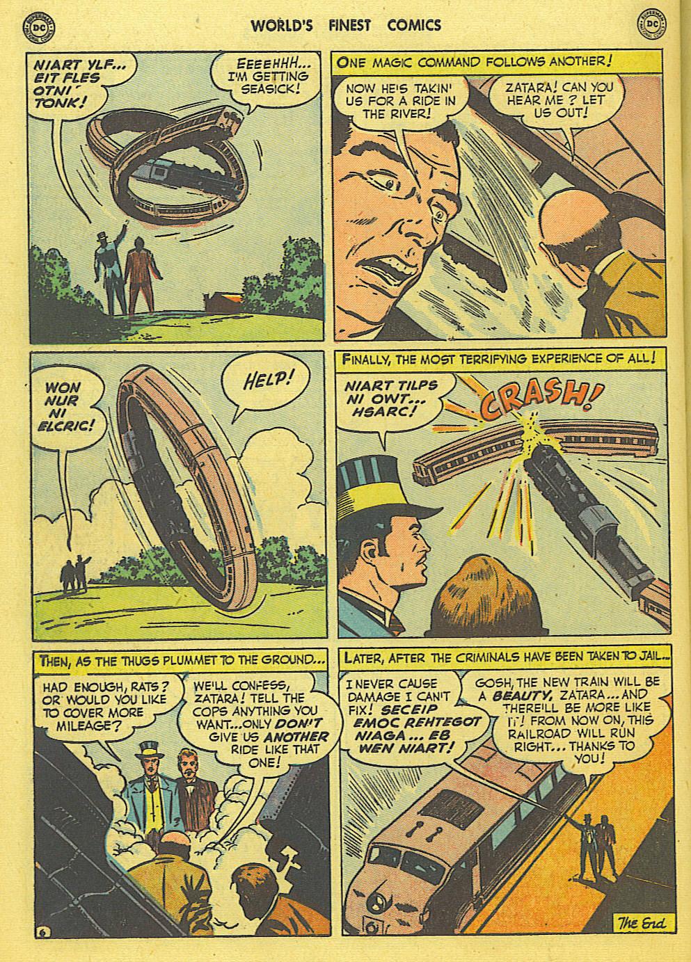 Read online World's Finest Comics comic -  Issue #49 - 57