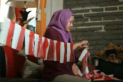 Kerajinan Tangan Menyambut Hari Kemerdekaan Republik Indonesia