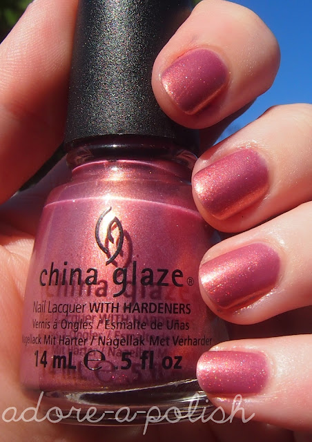 China Glaze Sex On The Beach - Swatch - Adore A Polish A -1651