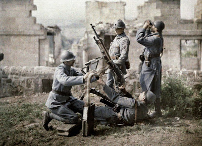 Coloured World War One Photo