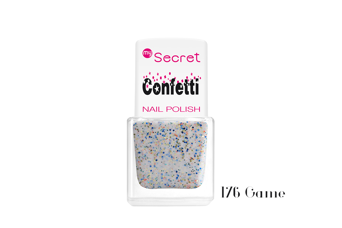 My Secret Confetti Nail Polish 176 Game